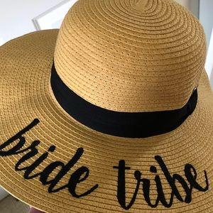 Bride Tribe Straw Hat